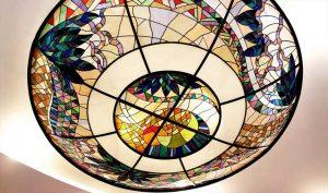 Современное витражное стекло