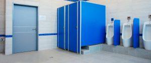 Сантехнические перегородки для туалетов и санузлов ЛДСП