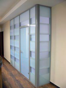 Гомель офисные перегородки алюминиевые