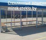 Курительная кабина из стекла Витебск