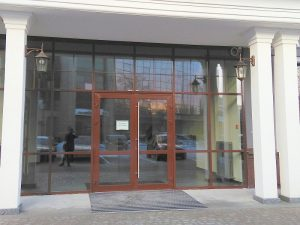 алюминиевые входные двери Минск