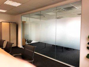 стеклянная перегородка в офис и дом в Бресте