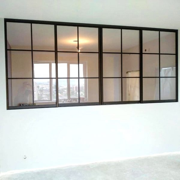 Раздвижные окна в интерьере квартиры и дома